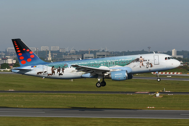 OO-SNE Airbus A320-214 EBBR 14-05-19