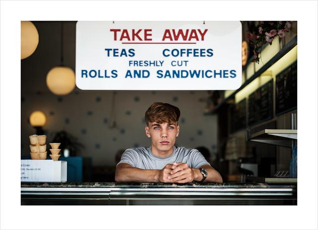 Take Away. Margate, Kent.