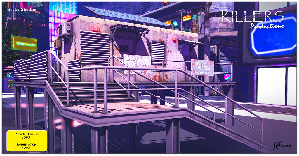 """""""Killer's"""" Sci-Fi Shelter On Discount @ Cyberfair Starts from 01st Sept"""