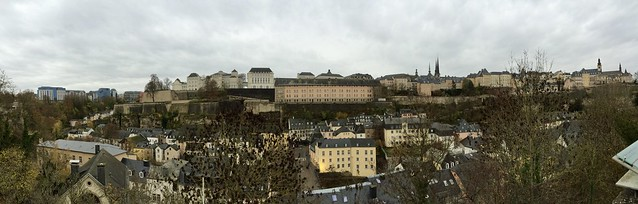 Luxembourg-ville en panoramiques