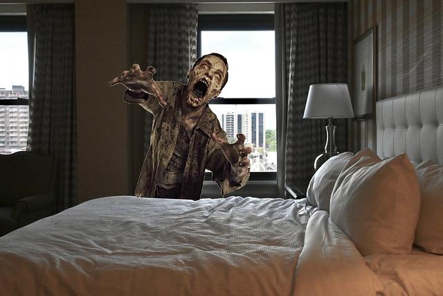 The Zombie Who Terrorized Room 814