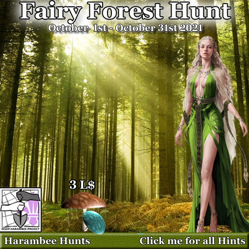 Fairy forest Hunt - October 1st - 31st