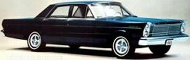 1965 Ford Custom, August 1964 press photo