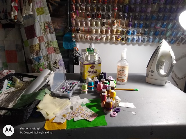 Embroidery chaos