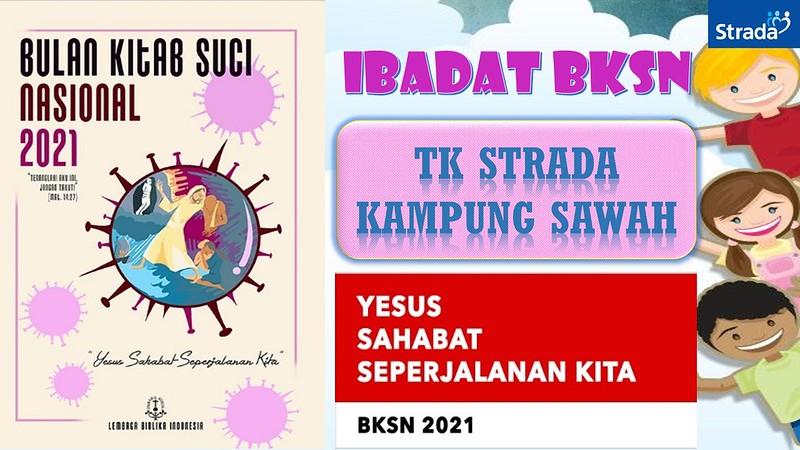 Ibadat Pembukaan Bulan Kitab Suci Nasional 2021