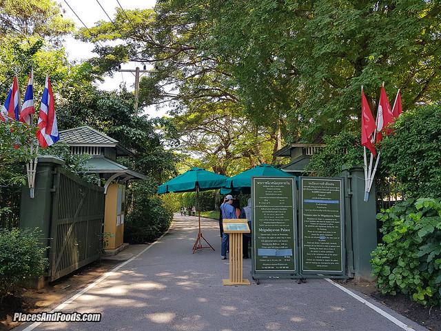 mrigadayavan palace hua hin entrance