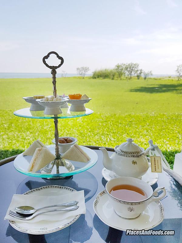 mrigadayavan palace high tea