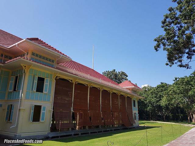 mrigadayavan palace building cha am