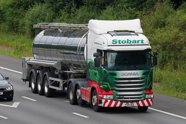 Eddie Stobart Scania R450 PO18OEE
