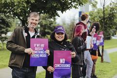 SEIU Healthcare -  Hospital Rally - Barrie Royal Victoria Regional Health Centre - July 29 by Felipe Noriega 30907