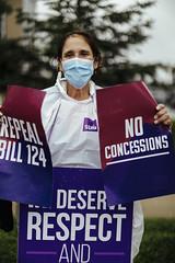SEIU Healthcare -  Hospital Rally - Barrie Royal Victoria Regional Health Centre - July 29 by Felipe Noriega 30862