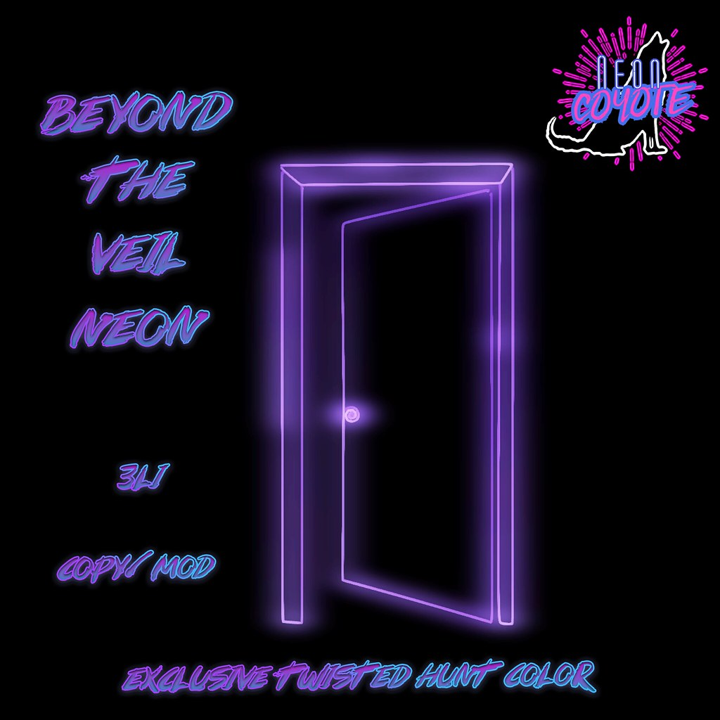 neonCOYOTE – beyond the veil neon TWISTED
