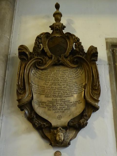 Memorial, St Mary's, Cambridge