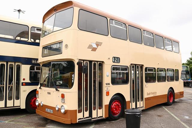 South Yorkshire Transport: 1696 CWG696V Leyland Atlantean