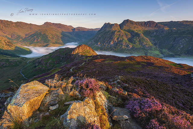 First light on the Fells