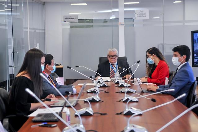 COMISIÓN DEL DERECHO A LA SALUD, EN MODALIDAD SEMIPRESENCIAL. ECUADOR 01 DE SEPTIEMBRE