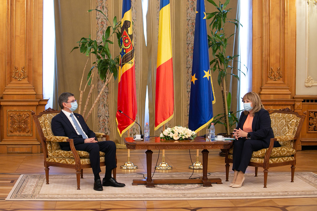 01.09.2021 Președintele Parlamentului, Igor Grosu, în vizită oficială la București