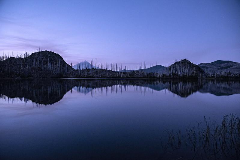 Dusk at Jorn Lake