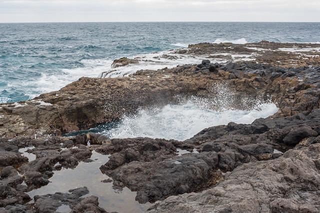 Bufadero de la Garita en Gran Canaria