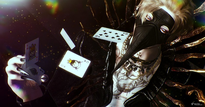You can't control the cards you're dealt, just how you play the hand.
