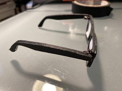 """Custom Cricut """"cut"""" sunglasses"""