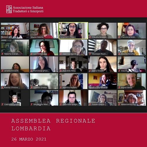 Assemblea regionale - marzo 2021