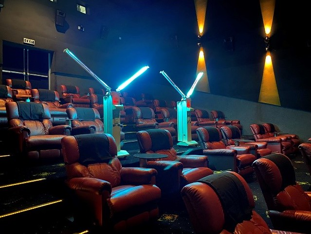 Gateway Cineplex, Ali Mall Cinemas ready to welcome you to a safer theater experience_GPC with UV room sterilizer