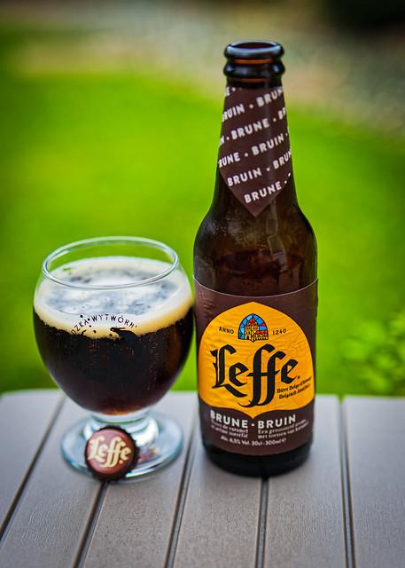 A Glass of Belgium Dark (Leffe Bruin - 6.5% by InBev) (Panasonic DC-S1 & Lumix S 50mm f1.8 Prime Lens)