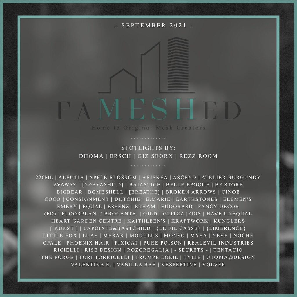 FaMESHed September 2021