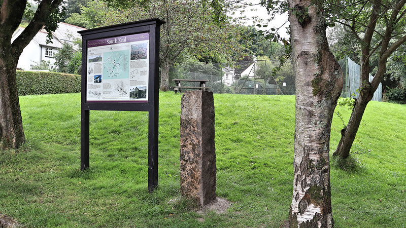 SZ4 / DC4 Mineral Stone, South Zeal Recreation Ground