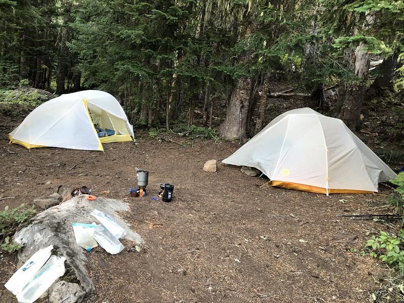 Campsite at Jorn Lake