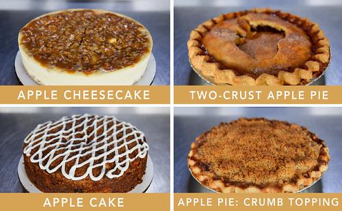 Apple Desserts Fundraiser