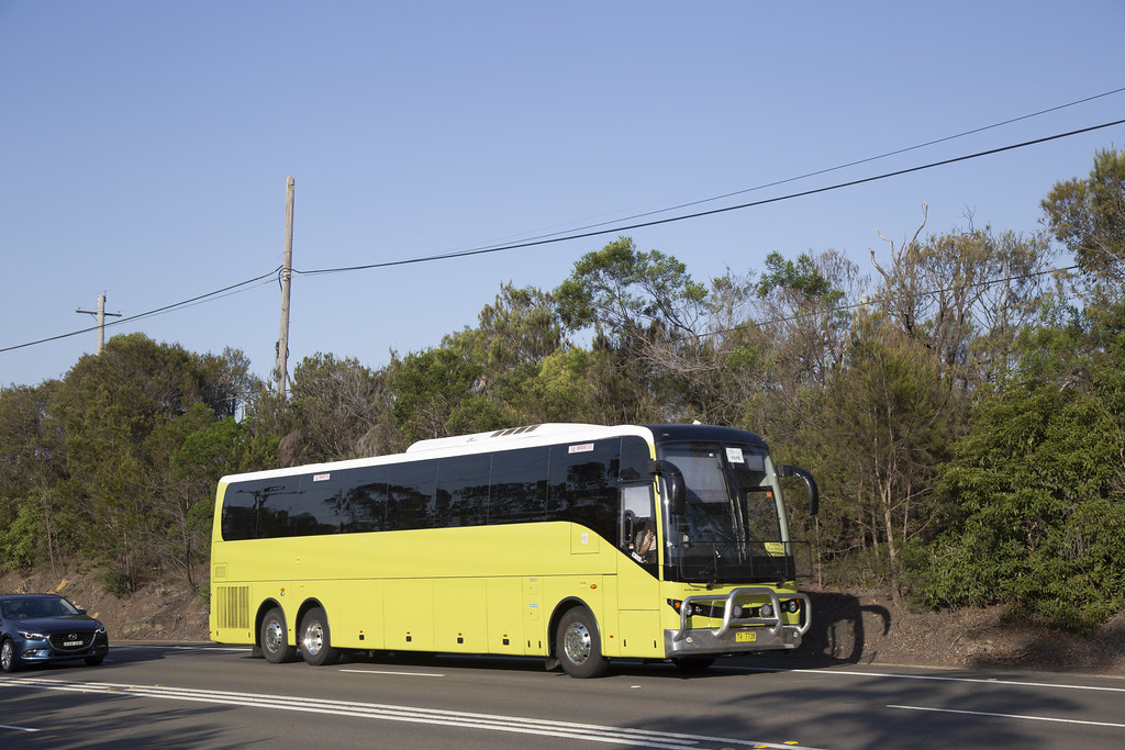 Group Charters TV7738 BCI Explorer on train replacement at Berowra.