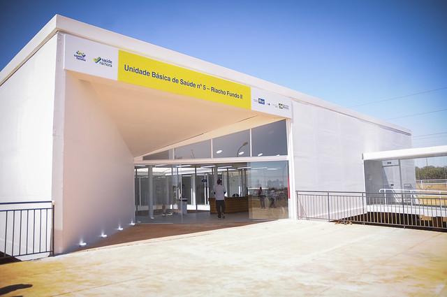 Inauguração da Unidade Básica de Saúde 5 do Riacho Fundo ll (01.09.2021)