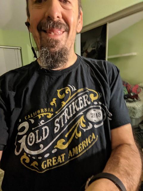 Gold Striker Tshirt