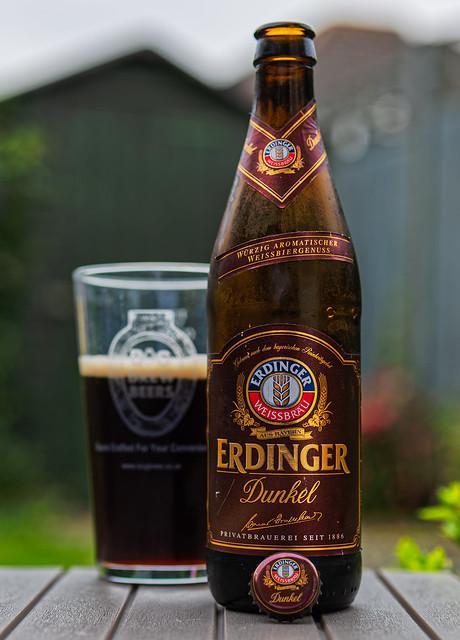 A German  Dark Weissbier -  Erdinger Dunkel (5.3%)  (Panasonic DC-S1 & Lumix S 50mm f1.8 Prime)