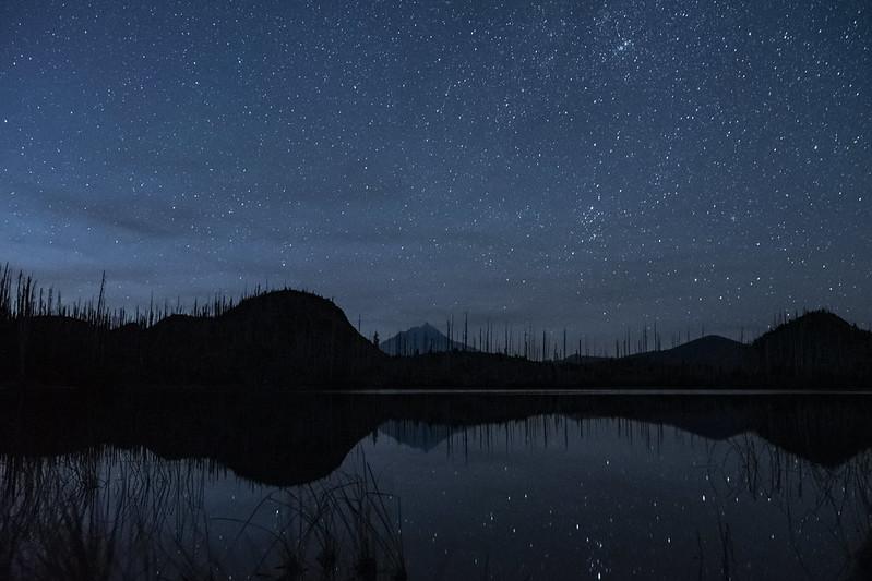 Stars over Jorn Lake