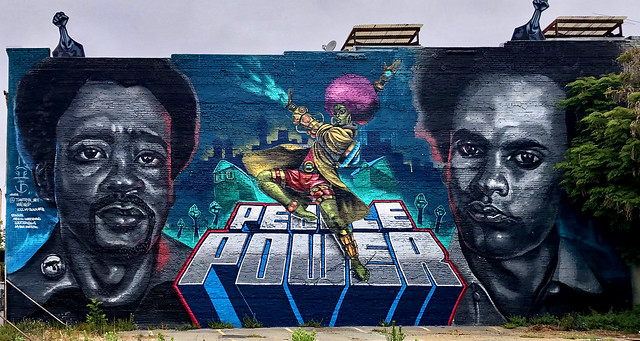 People Power by TimothyB & Mail Byers for Kiss My Black Arts