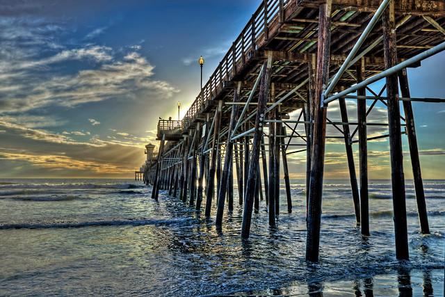 O'Side Pier Sunset 13-8-28-21-6D-17X40