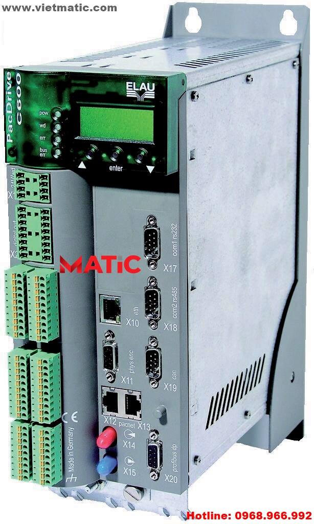 ELAU PacDrive C600   www.vietmatic.com