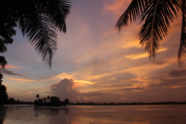 Favourite sunset scene