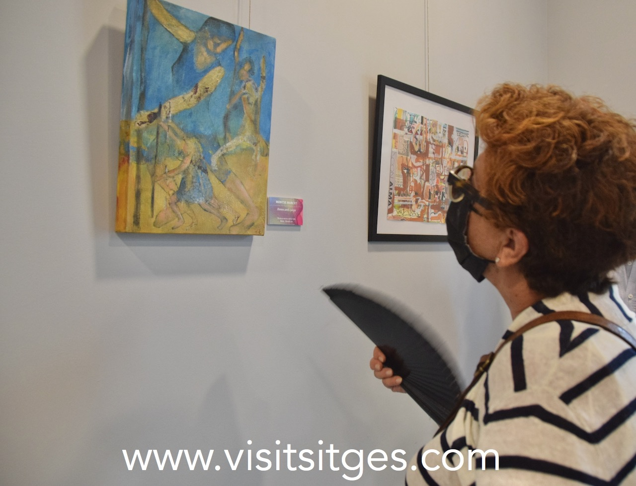 """Exposició """"Amb mirada de dona"""" - Festival Dona Art en Femení Sitges 2021"""