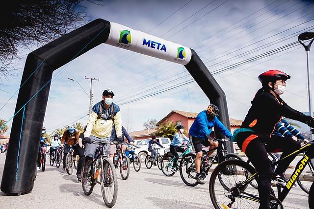 Exitosa Cicletada Familiar Coltauco 2021