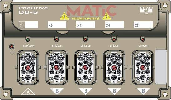 PacDrive DB-5 | www.vietmatic.com