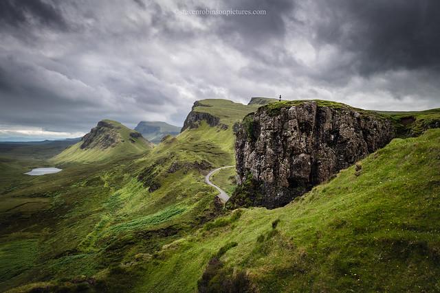 Overlooking The Trotternish Ridge