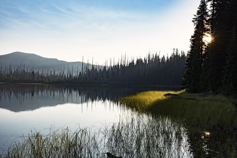 Morning at Jorn Lake