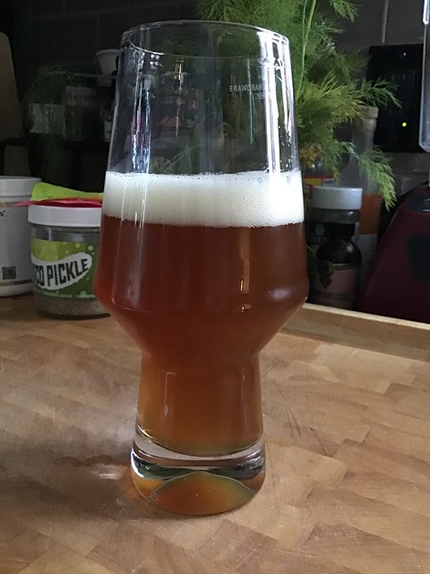 IPA in glass