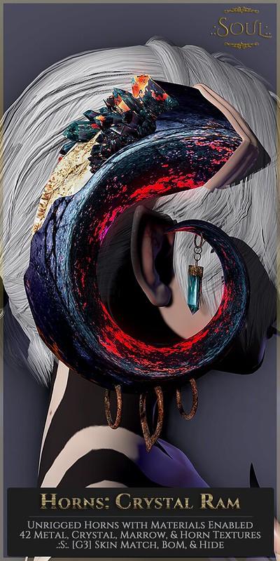 .:S:. Horns: Crystal Ram