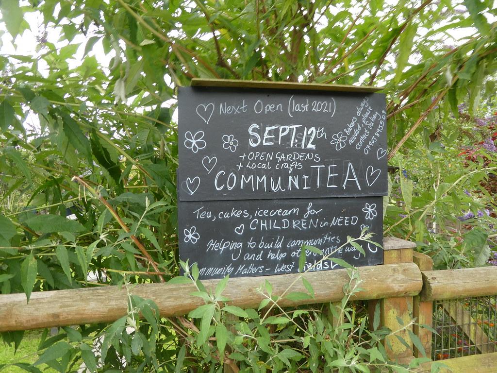 The CommuniTEA Garden Cafe, Newbury