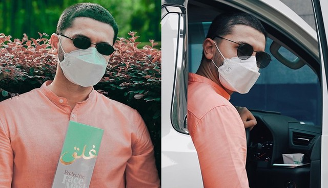 Jualan Pelitup Muka Pu Riz &Amp; Neelofa Sold Out Tidak Sampai Tiga Jam Dilancarkan